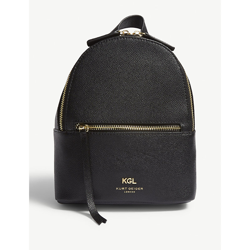 Richmond small grained leather backpack