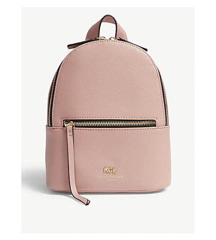 backpack Pink LONDON KURT grained leather Richmond GEIGER KURT GEIGER small xw8zUqSS