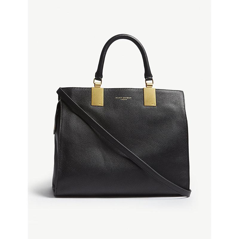 Emma leather tote