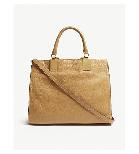 leather KURT Emma LONDON GEIGER KURT Camel GEIGER tote Z1Xp1wFqn