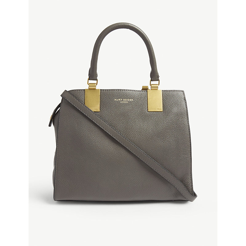 Emma small leather tote