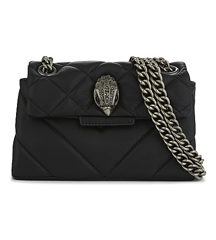 KURT GEIGER LONDON Kensington cross-body bag (Black
