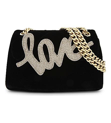 KURT GEIGER LONDON Mini Kensington shoulder bag (Black