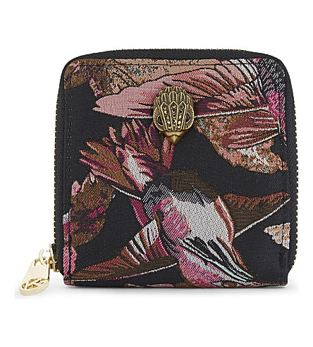 KURT GEIGER LONDON Bird mini zip-around purse (Mult/other