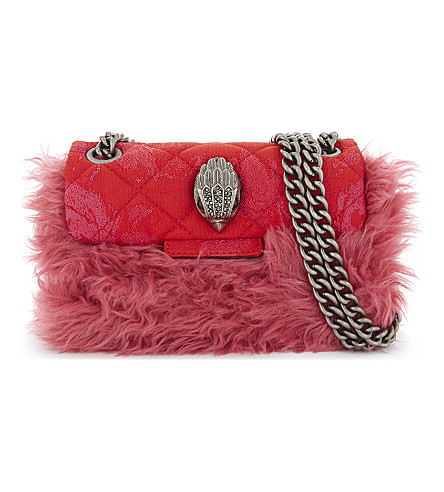 KURT GEIGER LONDON Mini Kensington cross-body bag (Pink