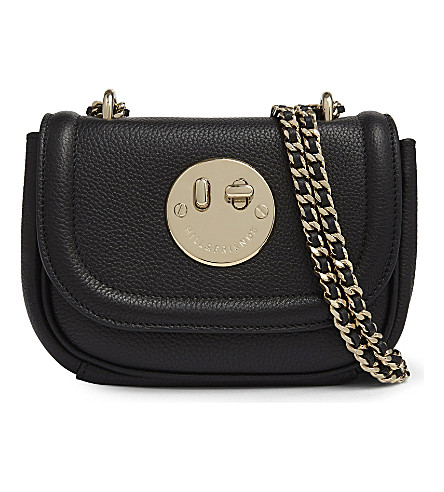 HILL AND FRIENDS Happy Tweency chain cross-body bag (Black/gold