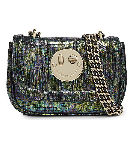 HILL AND FRIENDS Happy Tweency chain cross-body bag (Happy+camo+/gold