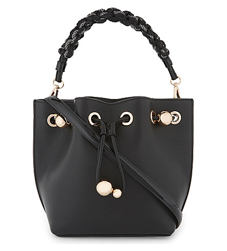SOPHIA WEBSTER Romy mini bucket bag (Black