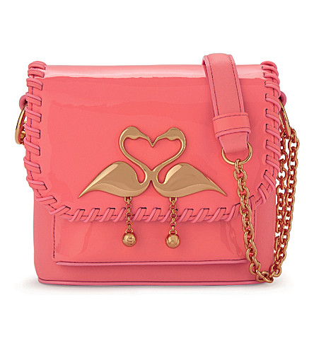 SOPHIA WEBSTER Claudie leather cross-body bag (Sherbert pink