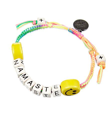 VENESSA ARIZAGA Salutations ceramic bracelet (Multi