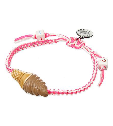 VENESSA ARIZAGA I scream 4 ice cream ceramic bracelet (Pink