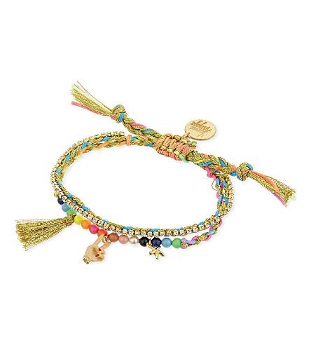 VENESSA ARIZAGA Peace Babe bracelet (Multi