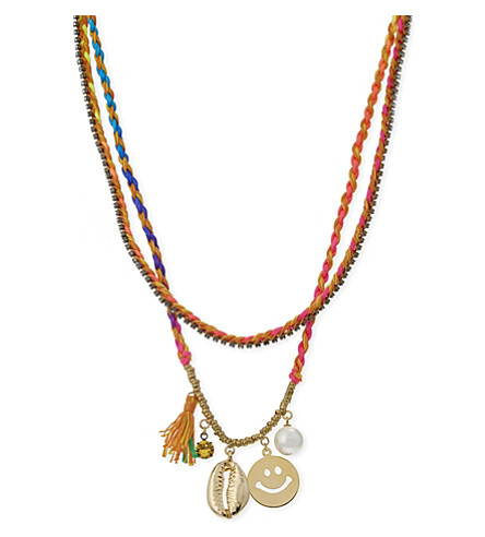 VENESSA ARIZAGA Fun at the beach necklace (Multi