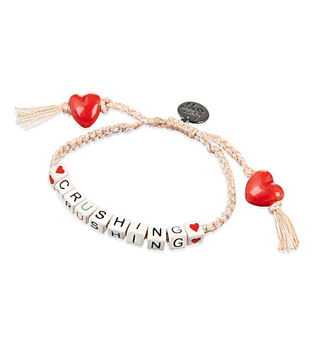 VENESSA ARIZAGA Crushing ceramic bracelet (Pink