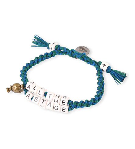 VENESSA ARIZAGA The world's a stage bracelet (Multicolor