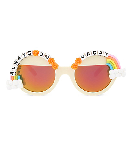 RAD AND REFINED Always On Vacay round-frame sunglasses (Multi