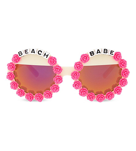 RAD AND REFINED Beach Babe round-frame sunglasses (Multi