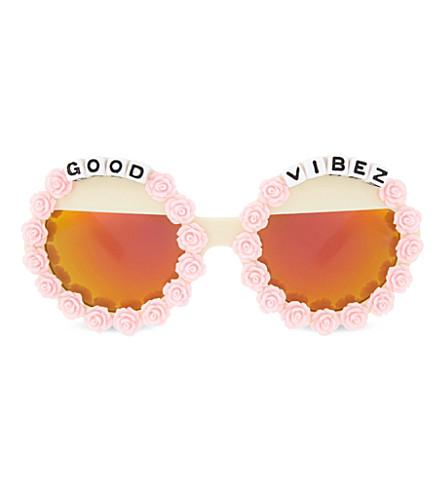 RAD AND REFINED Good Vibez round-frame sunglasses (Multi