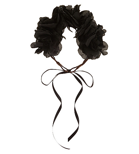 ROCK N ROSE Opelia crown (Black