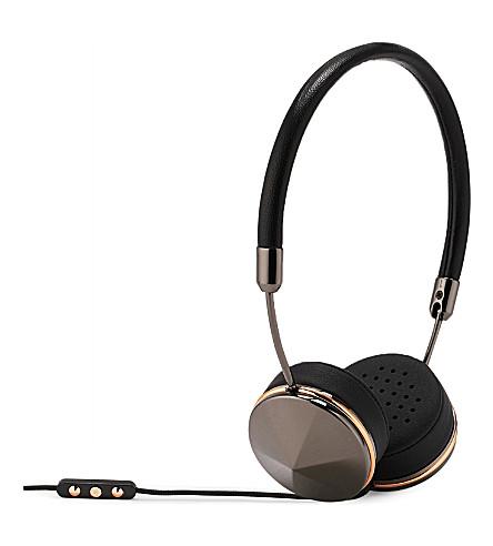 FRENDS HEADPHONES Layla gunmetal on-ear headphones (Bk/gunmtl