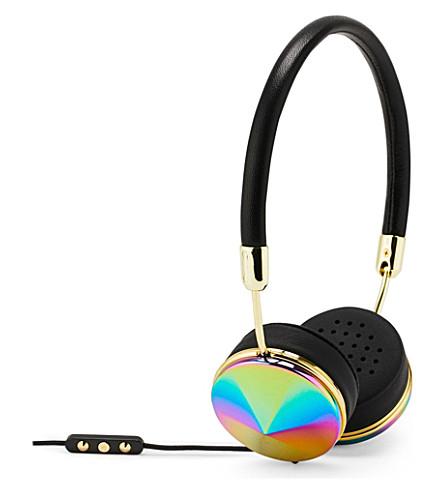 FRENDS HEADPHONES Layla oil slick on-ear headphones (Bk/os
