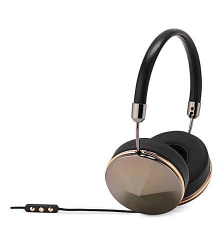 FRENDS HEADPHONES Taylor gunmetal on-ear headphones (Bk/gunmtl