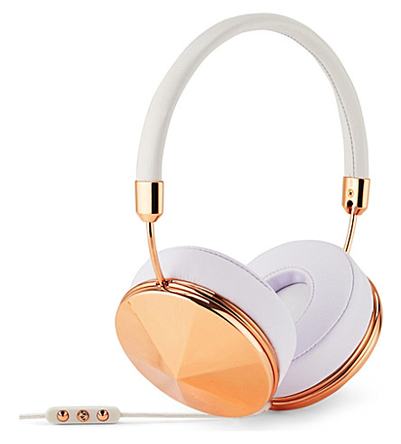 FRENDS HEADPHONES Taylor rose gold on-ear headphones (Wht/rg
