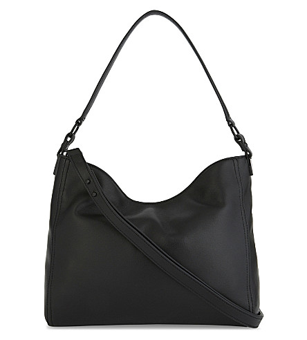LOEFFLER RANDALL Hobo leather shoulder bag (Black