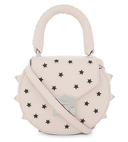 SALAR Mimi Cosmo leather cross-body bag (Baby+pink