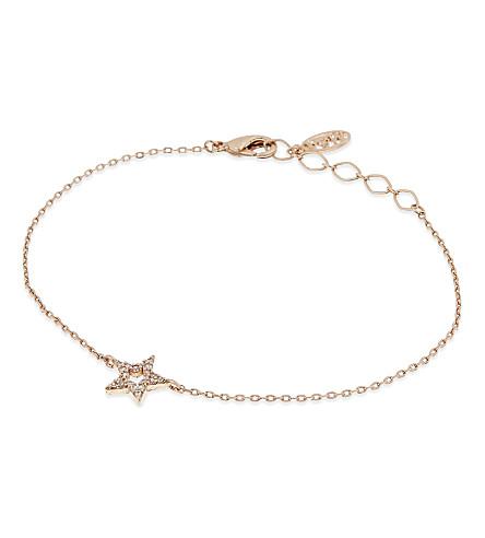 ASTRID & MIYU New Tricks rose gold star bracelet (18k rose gold