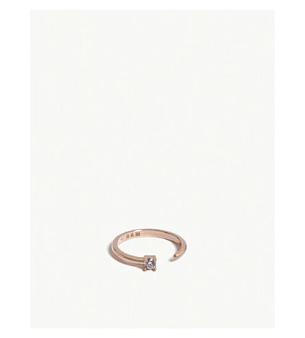 ASTRID & MIYU Aries Zodiac ring (Rose+gold