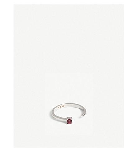 ASTRID & MIYU Cancer Zodiac ring (Rhodium