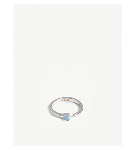 ASTRID & MIYU Sagittarius Zodiac ring (Rhodium