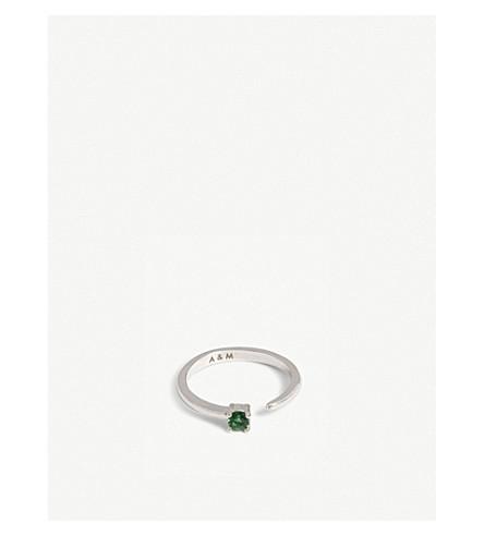 ASTRID & MIYU Taurus Zodiac ring (Rhodium