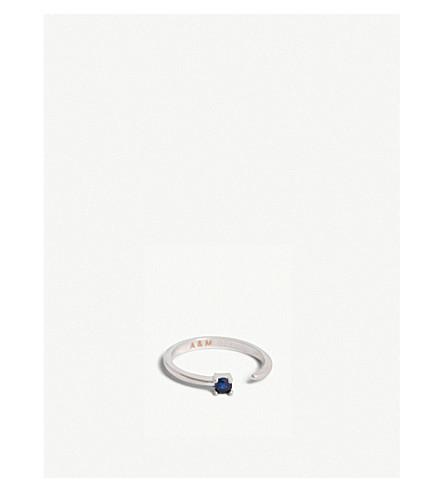ASTRID & MIYU Virgo Zodiac ring (Rhodium