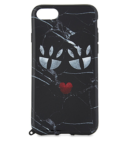 IPHORIA Monster black marble iPhone 7 case (Multi