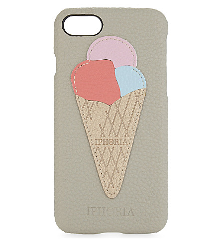 IPHORIA Ice cream cone patch iPhone 7 case (Ice+cream