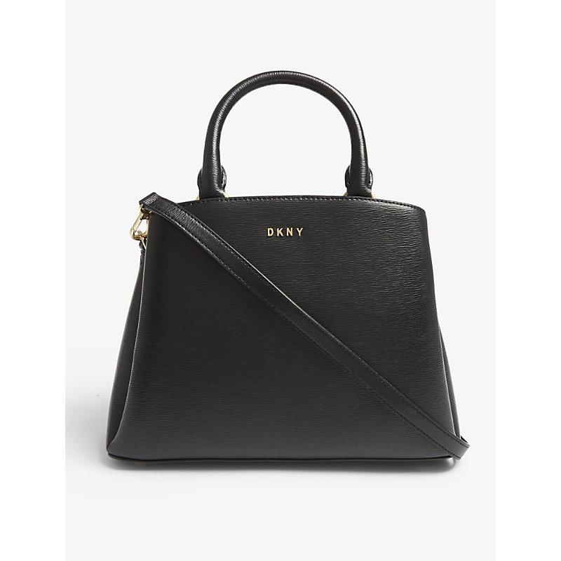 Paige medium leather satchel
