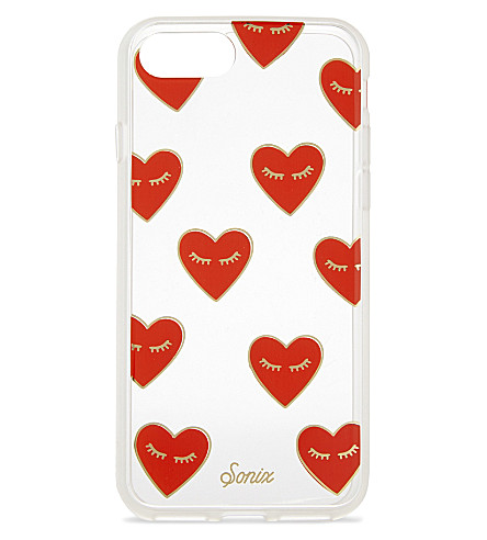 SONIX Heart iPhone 7 case (Red