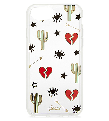 SONIX Heart and cactus iPhone 7/6/6s case (Red