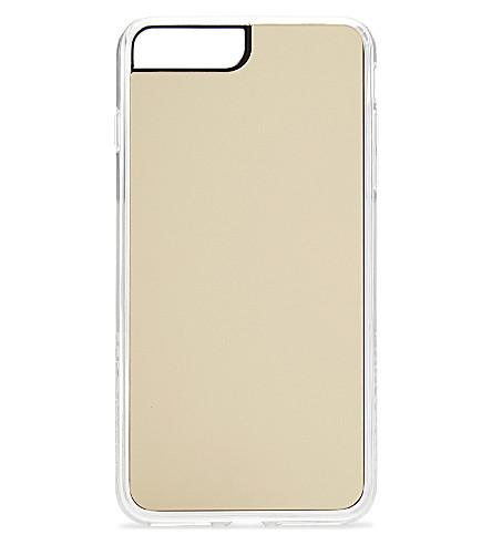 ZERO GRAVITY Gold Mirror iPhone 7 Plus clip-on case (Gold