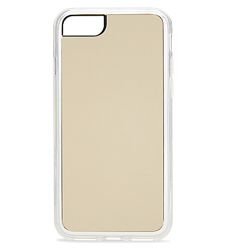 ZERO GRAVITY Gold Mirror iPhone 7 clip-on case (Gold