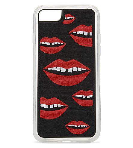 ZERO GRAVITY Hello iPhone 7 case (Red/black