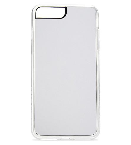 ZERO GRAVITY Silver Mirror iPhone 7 Plus clip-on case (Silver