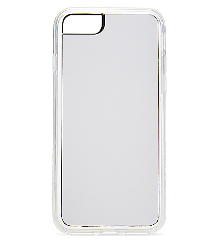 ZERO GRAVITY Silver Mirror iPhone 7 clip-on case (Silver