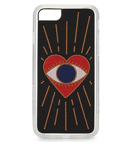 ZERO GRAVITY Visions iPhone 7 case (Red+multi