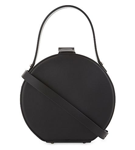 NICO GIANI Tunilla leather circle bag (Black