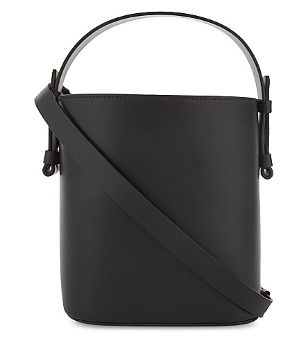NICO GIANI Adenia large leather bucket bag (Black