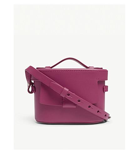 NICO GIANI Frerea mini leather shoulder bag (Fuxia