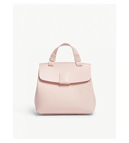 NICO GIANI Hoodia mini leather backpack (Light+pink